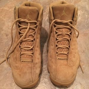 Retro Jordan 13 (Wheat) (khaki)